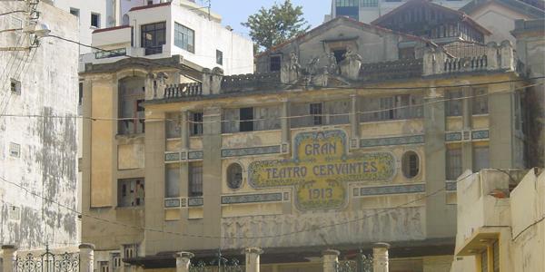 Théâtre Cervantes, Tanger