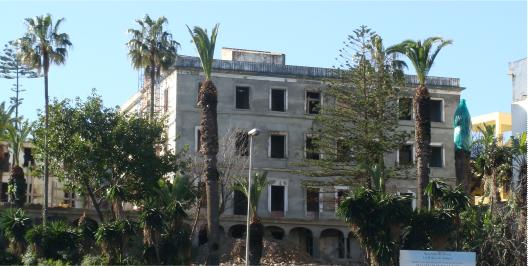 Villa de France en rénovation par les propriétaires du Minzah