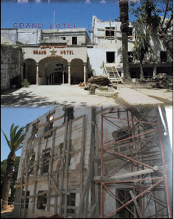 Rénovation du Grand Hôtel Villa de France-Tanger