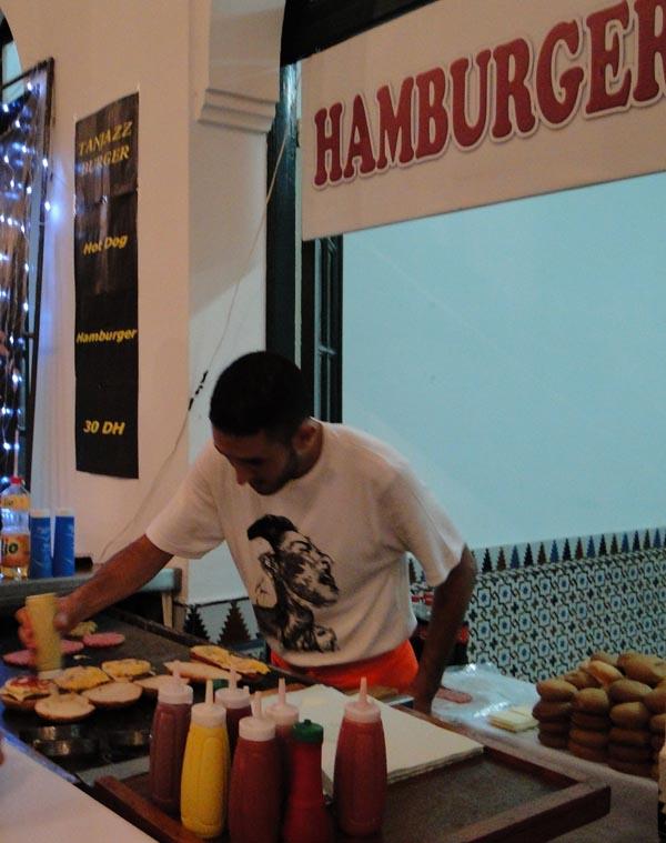 Le roi du Hamburger est à Tanger...