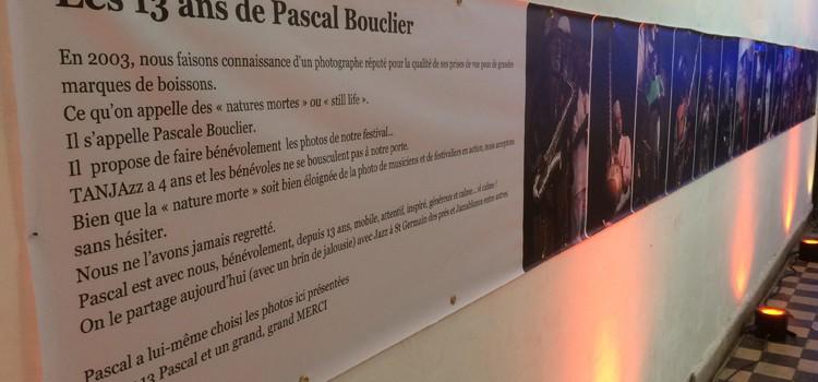 Pascal Bouclier, le photographe de Tanjazz depuis 13 ans.