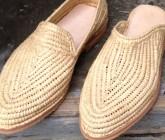 Les belles chaussures en raphia d'Ahmed Zeggaf