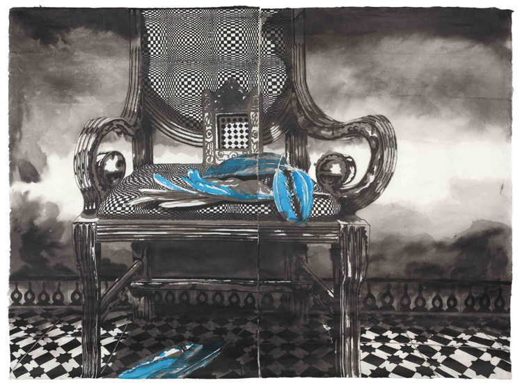 tanger experience - fauteuil de Thomas Henriot à Tanger
