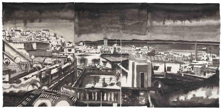tanger-experience - vue de Tanger par Thomas Henriot