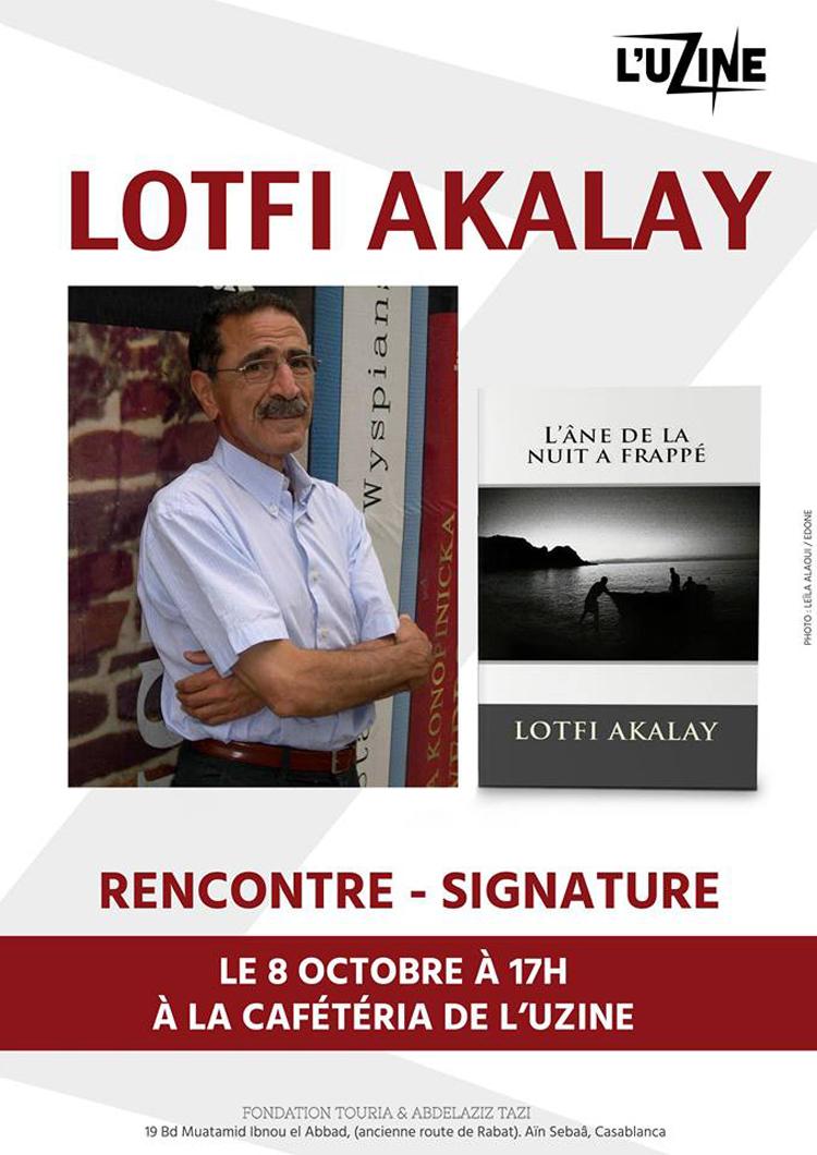 tanger experience - Lotfi Akalay écrivain de Tanger