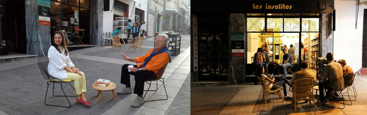tanger-experience - librairie les insolites à Tanger pour Julie Clément