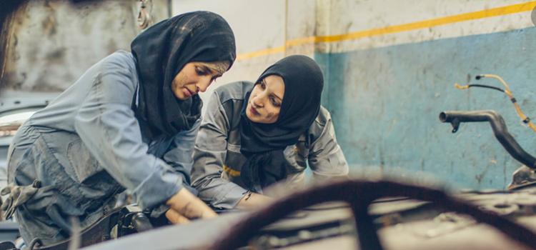 A Tétouan. «Princess Auto», le garage fait par des femmes pour des femmes.