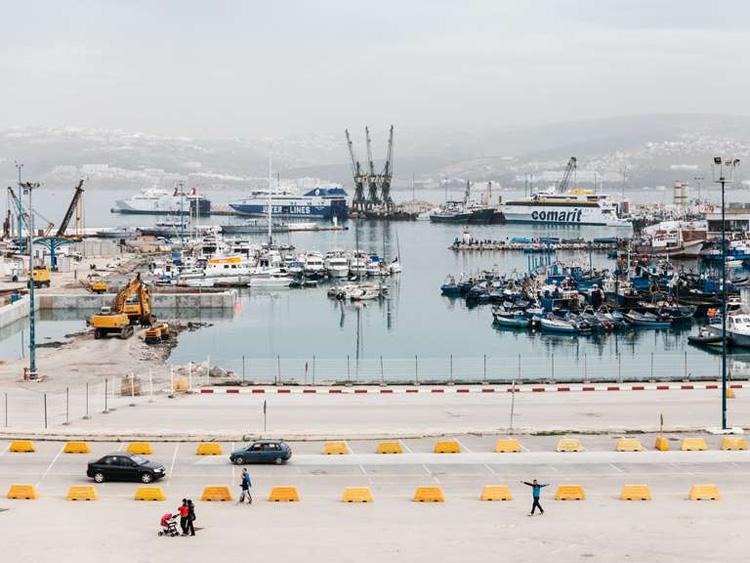 Port de pêche de Tanger en 2017