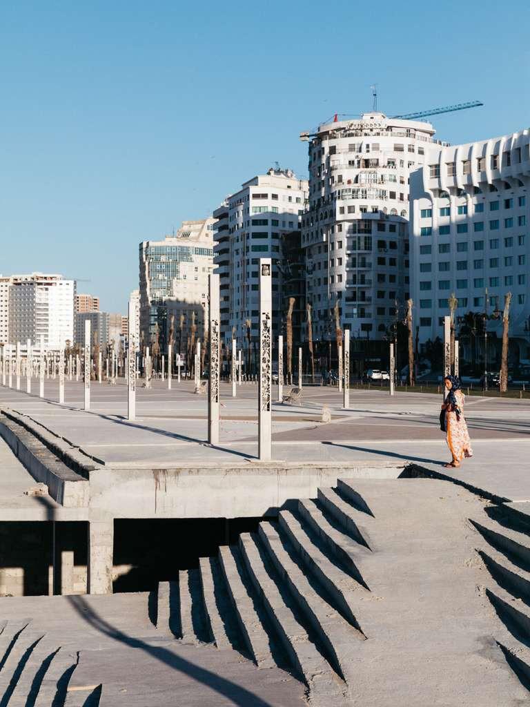 La nouvelle corniche de Tanger avec ses parkings souterrains