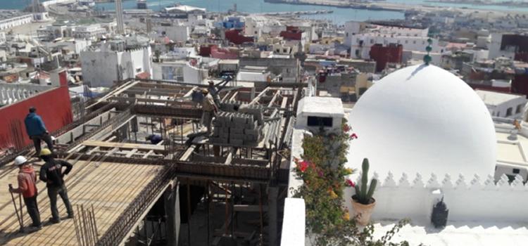 Nouveau scandale urbanistique dans la kasbah de Tanger