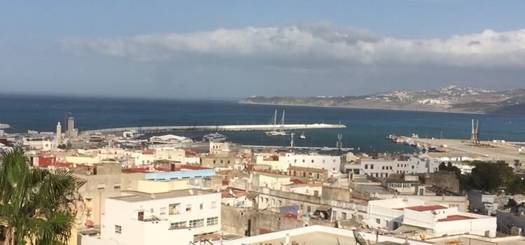 Le «Rainbow Warrior» dans le port de Tanger pour la COP22
