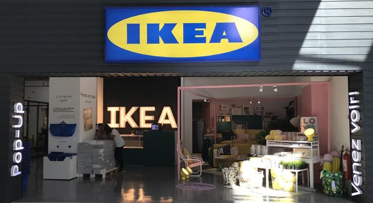 Ikea à Tanger avec un «Pop-Up store» au centre Socco Alto