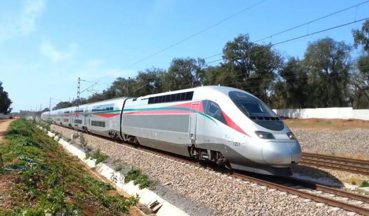Le TGV marocain en essai dynamique