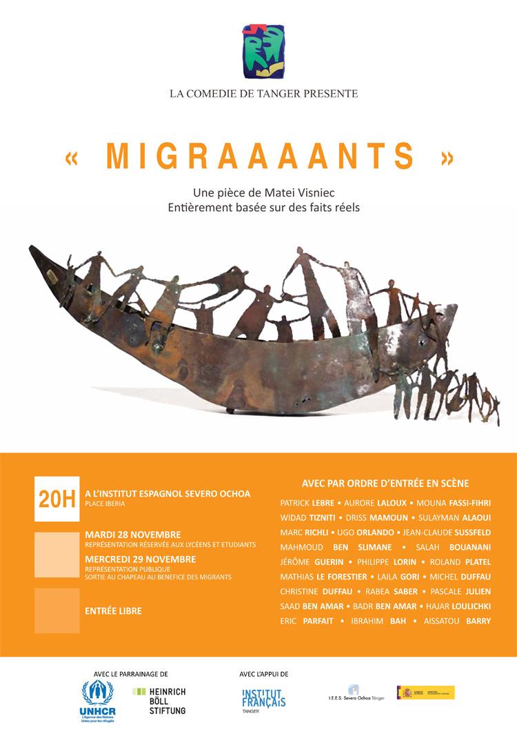 Migraaaants par La Comédie de Tanger