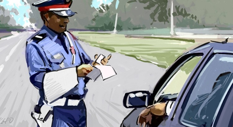 La Chronique de Lotfi !  # Policier à Tanger