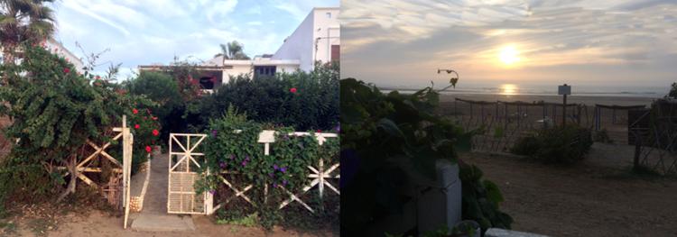 Da Renzo, sa terrasse et sa plage