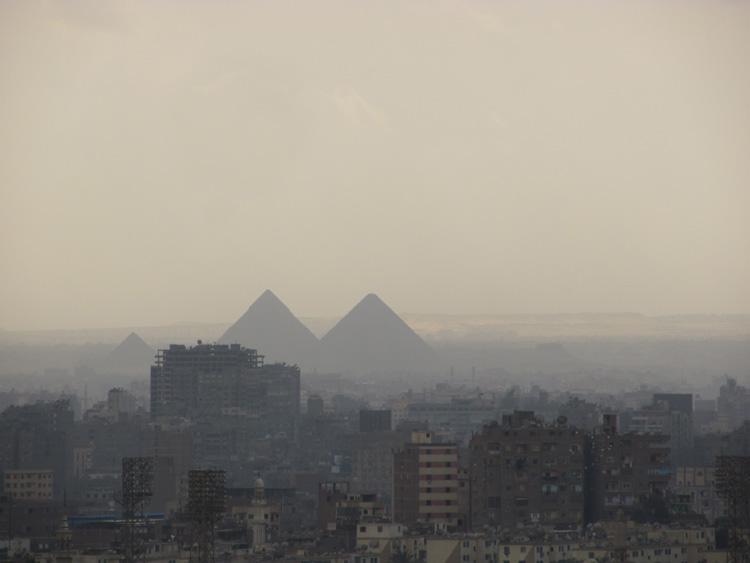 Pollution atmosphérique dans la ville du Caire