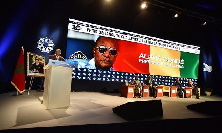 Medays 2017 à Tanger avec Alpha Condé, président de la Guinée