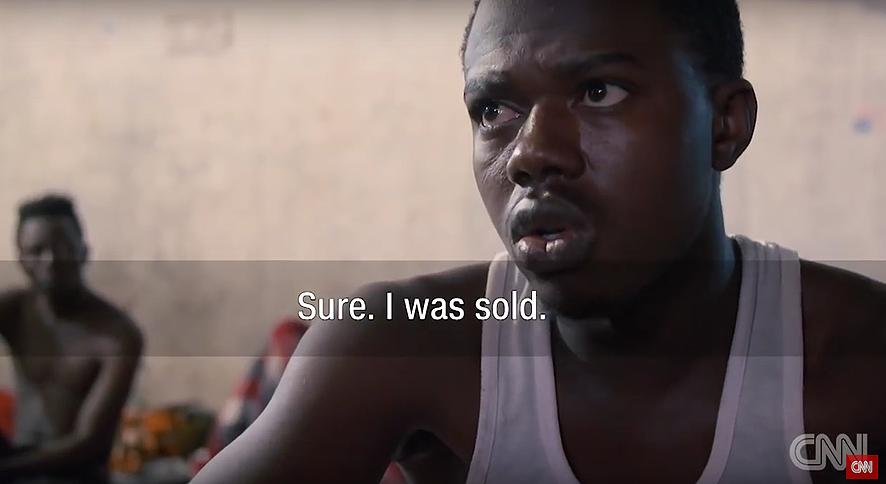 Marché aux esclaves-Libye 2017