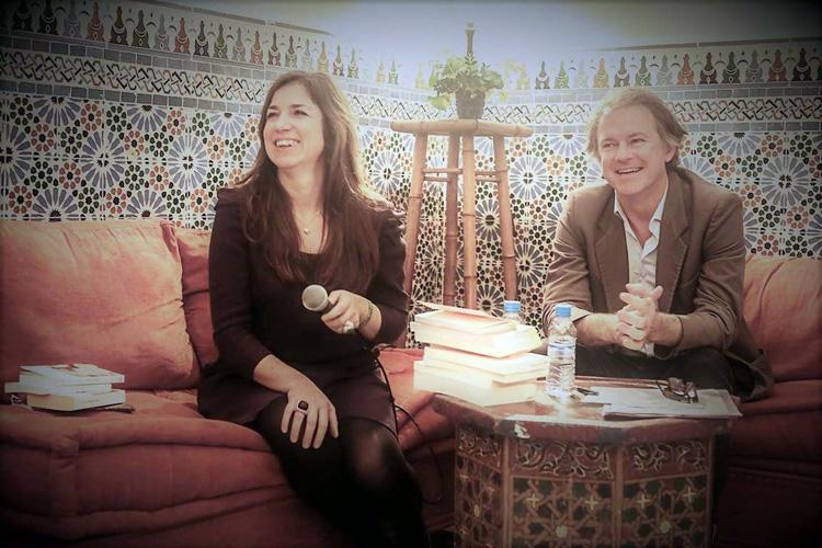 Stéphanie Gaou et Yannick Haenel à Tanger