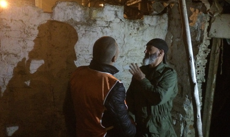 Un sdf aveugle à Tanger