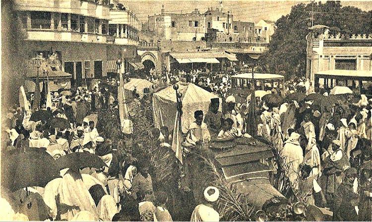 Fête du Mouloud à Tanger