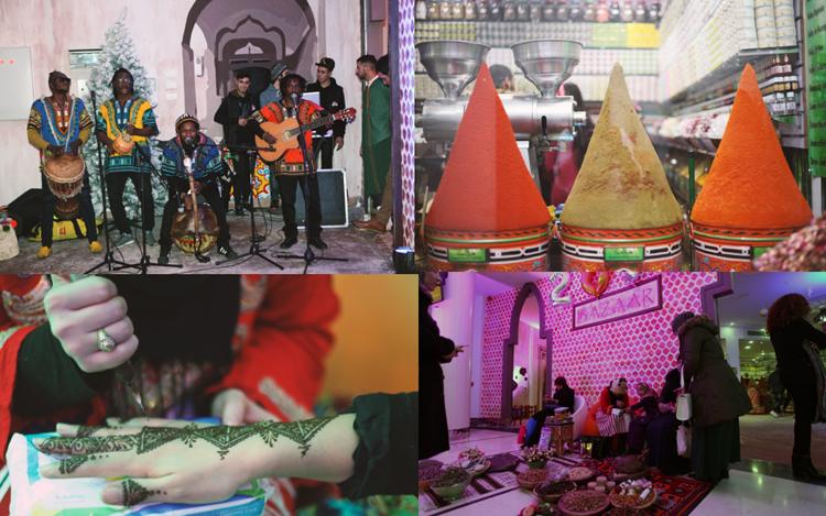 Marché de Noël à Tanger City Mall