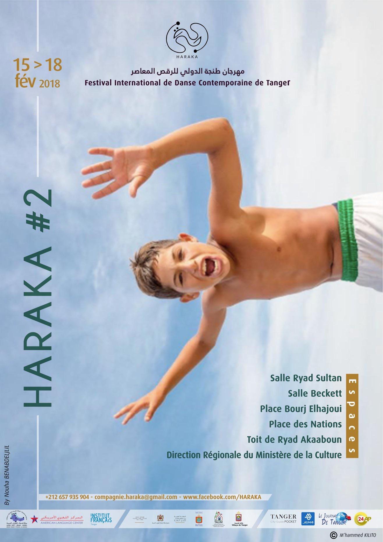 Haraka, Festival de danse à Tanger