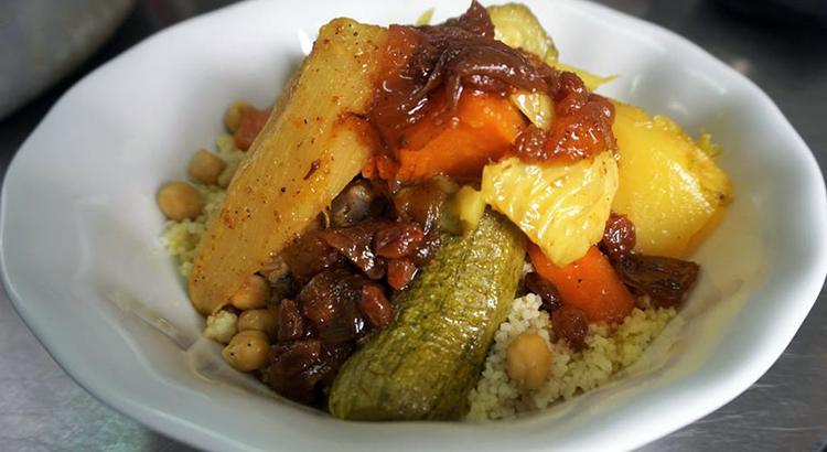 Le fameux couscous de La Terrasse à Tanger
