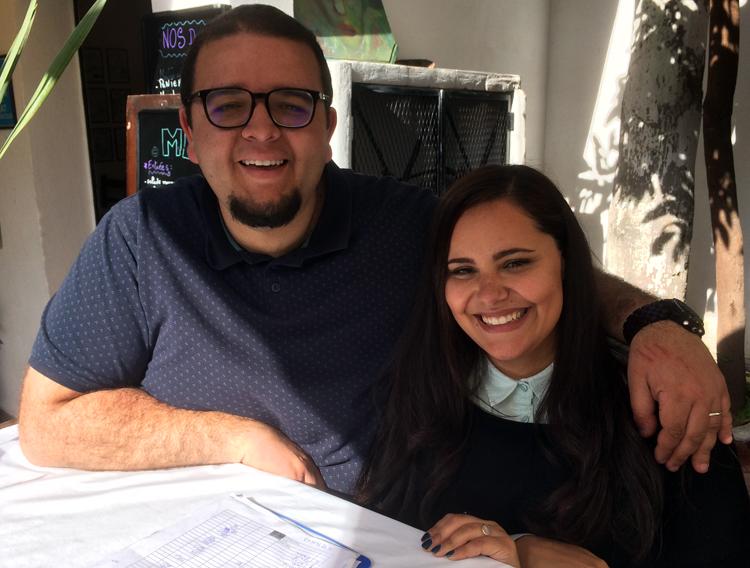 Noam et Soraya de Dar El Kasbah