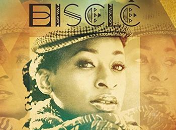 La chanteuse Biselé
