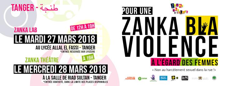 Opération Zanka bla violence à Tanger