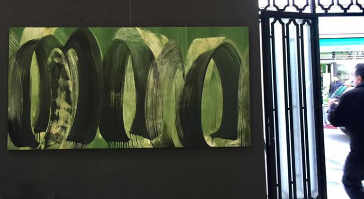 Peinture en Mouvements de Najoua Elhitmi