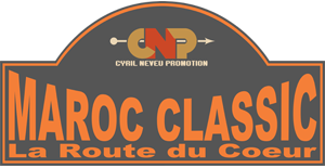 Plaque Rallye Maroc Classic-2018-2