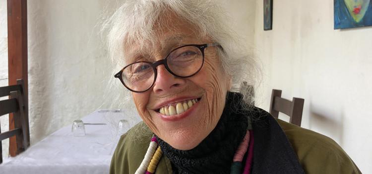Catherine Renaud-Baret conjugue sa peinture au passé composé.