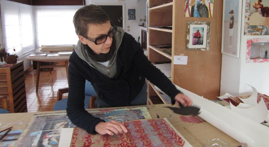 Carol Jarry, artiste peintre