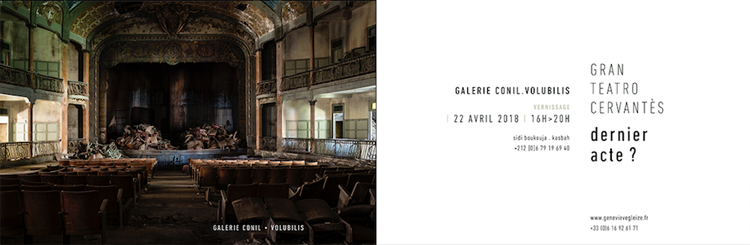Geneviève Gleize à la galerie Conil Volubilis
