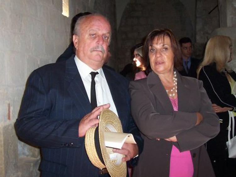 Giancarlo Petri et son épouse