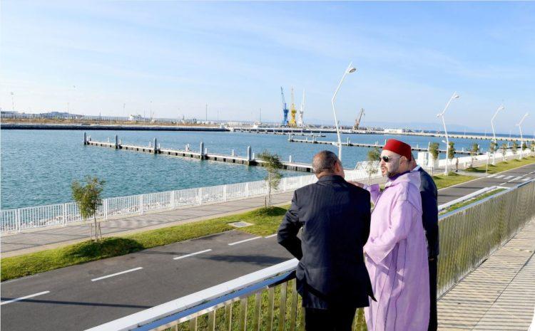 Mohammed VI inaugure Tanger Marina Bay