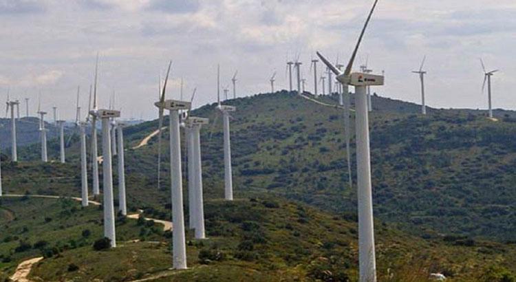 Parc éolien de Khalladi proche de Tanger