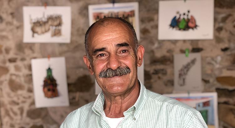 Mohammed Chaâra, des silhouettes sans visage qui racontent le Maroc.