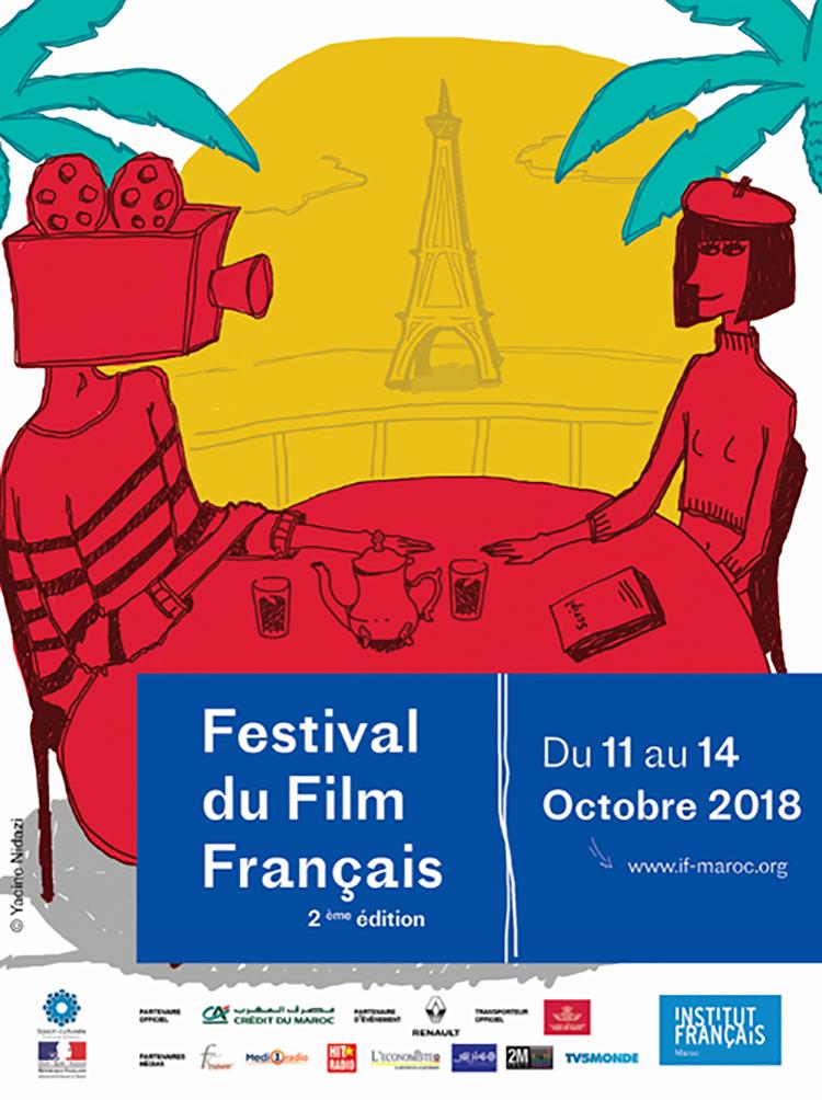Affiche Festival du Film Français 2018