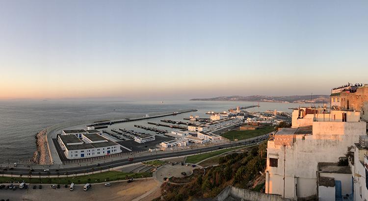 Les ports de Tanger ville en 2018