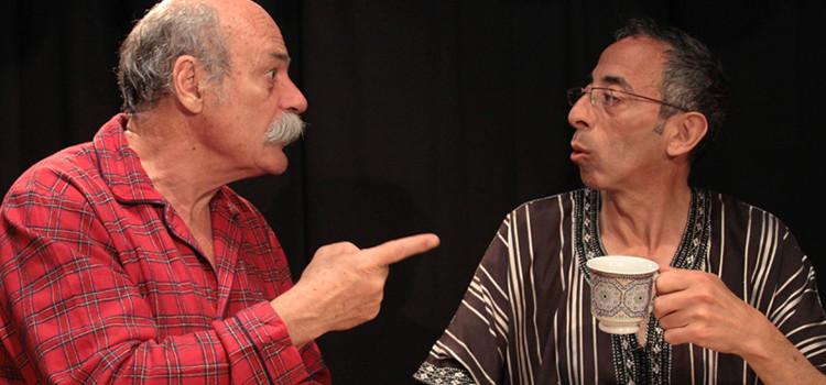 «La coloc' du brancardier» à la salle Beckett de Tanger le 30 novembre.