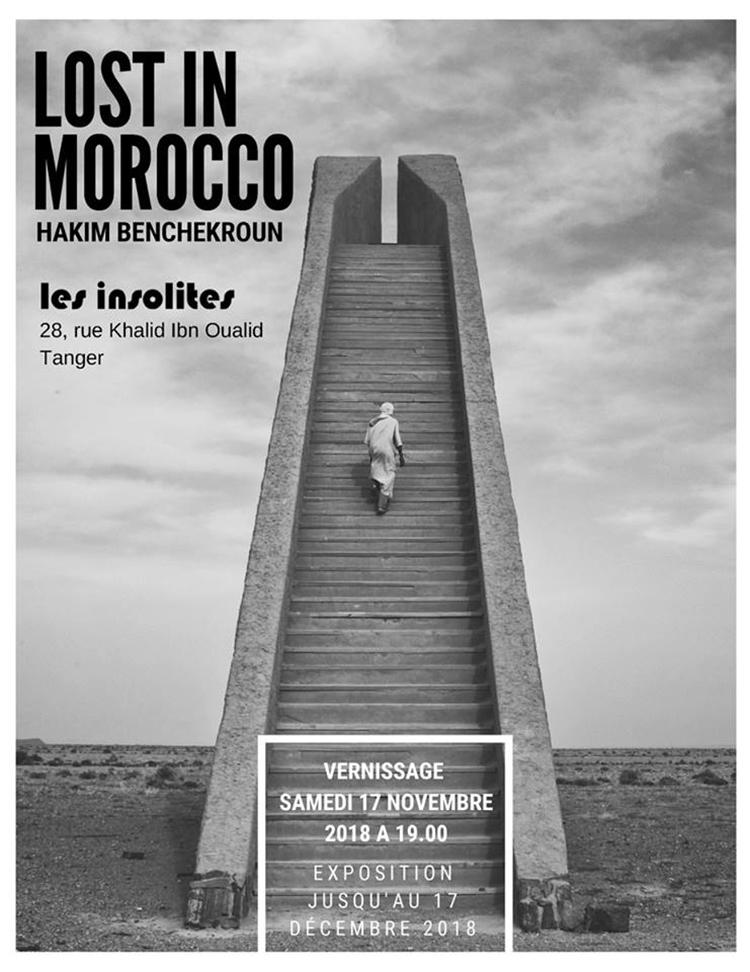 expo de Hakim Benchekroun aux insolites de Tanger