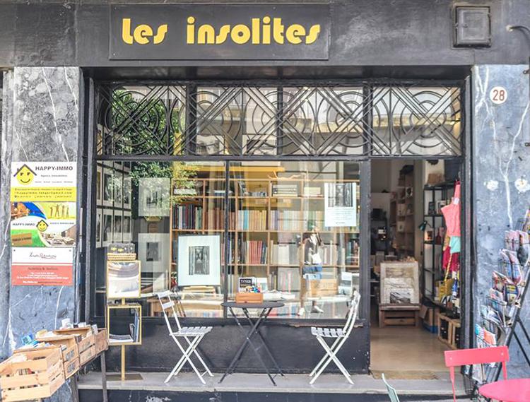 Librairie les insolites à Tanger