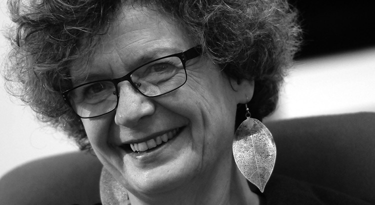 L'écrivaine Dominique Sigaud à la Galerie Delacroix