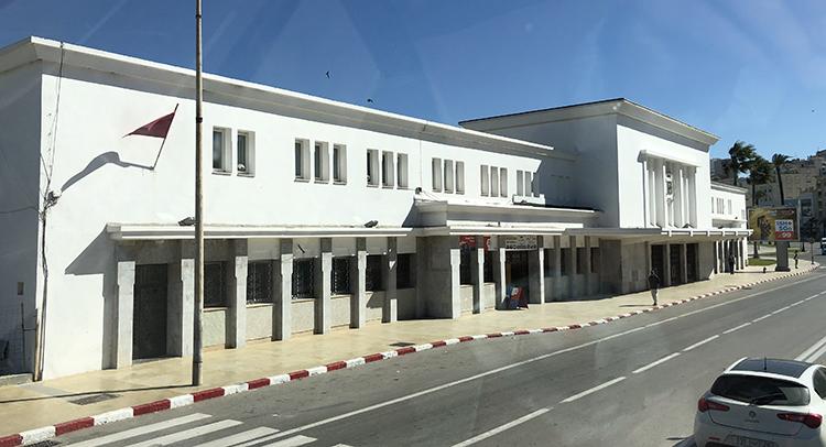 L'ancienne gare de Tanger Ville
