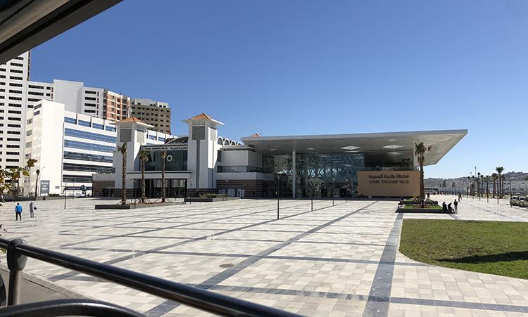 La nouvelle gare LGV de Tanger