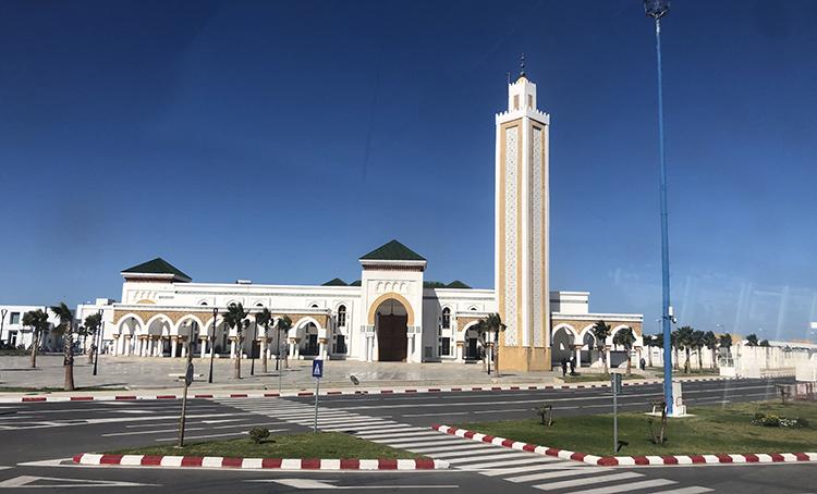 La nouvelle mosquée du Port